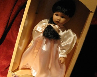 Porcelain doll / Collectible STANCY LU Special Edition /Petite Doll