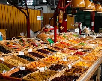 Florence Italy Market - San Lorenzo Market - Fine Art Photograph - Dried San Lorenzo