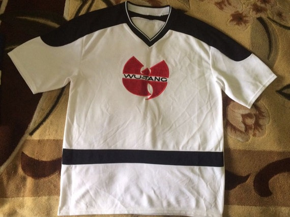 WU WEAR t-shirt, 1996 jersey vintage sewn, official authentic Wu Tang Clan merchandise, 90s hip hop clothing, 1990s hip-hop rap size S Small