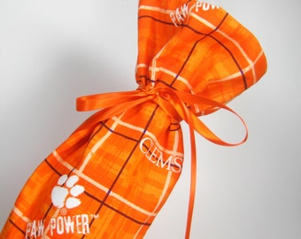 Clemson Tigers Class Wrap Wine Gift Bag