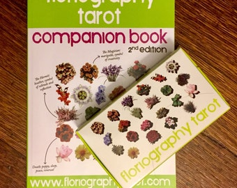 Book & Deck BUNDLE Companion Book + Floriography Tarot Deck together for reduced price