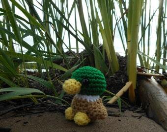 Mallard Duck Amigurumi Crochet