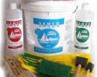 SEMCO Honeytone Teak Restoration Kit  Quart size