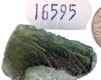 16595 Moldavite from Bohemia, Czech Republic 4.1 g