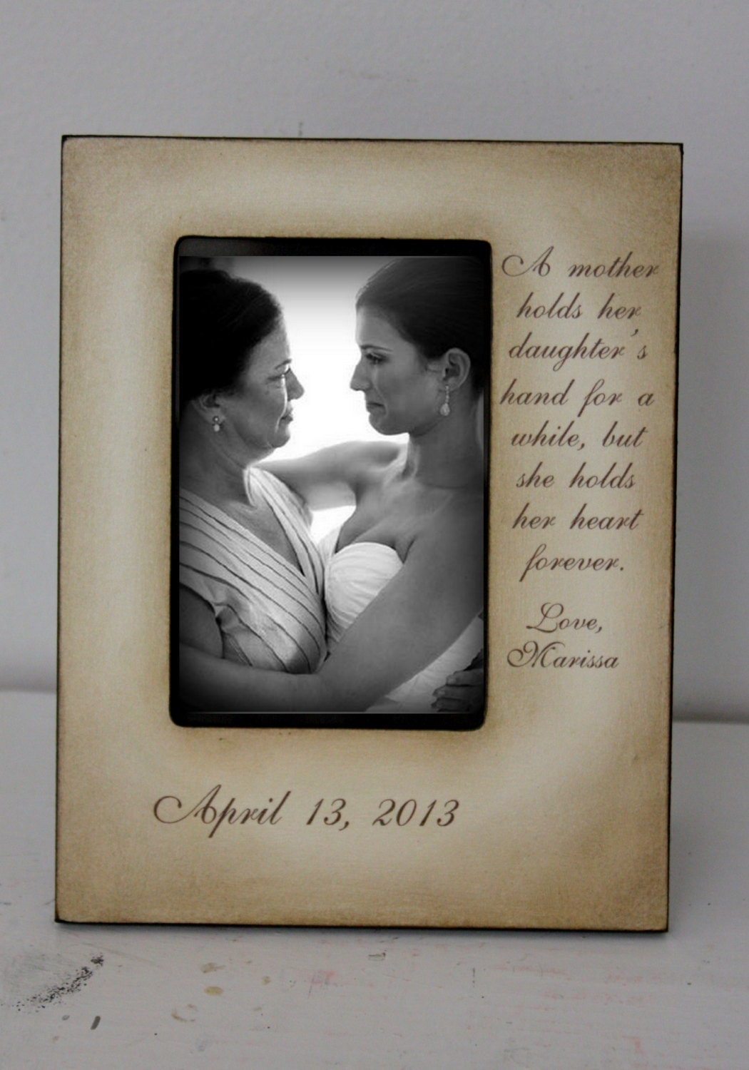 zoom - Mother Of The Bride Picture Frame