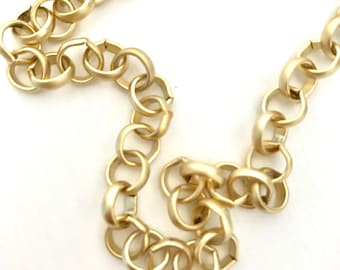 22K Gold plated Chain Necklace