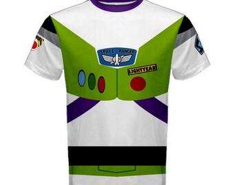Men's Buzz Lightyear Toy Story Inspired Shirt