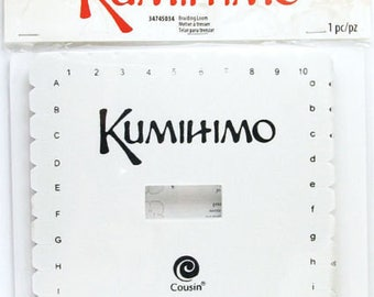 Cousin KUMIHIMO Square Braiding Loom with Instructions 5 1/2""