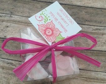 Gender Reveal Bath Bomb Favors, Baby Shower Favors