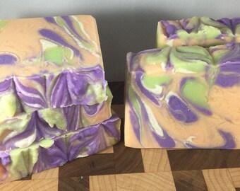 Apricot Freesia Vegan Handmade Cold Process Soap