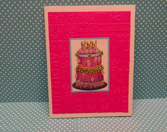Birthday Cake Happy Birthday Cards