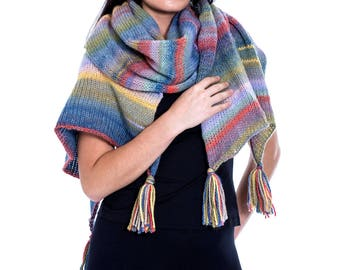 Anniversary gift for wife ideas | Winter scarf | Knit shawl | Wool scarves women | Oversized shawl scarf wrap | Gift wife christmas ideas