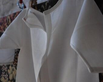 rare blouse for newborn 1900s cotton exquisite