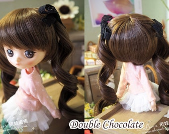 bjd doll girl wig M-4 (2 colors) for MSD 1/4 Jerryberry