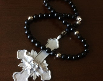 Danzig Lucifuge Rosary Beads