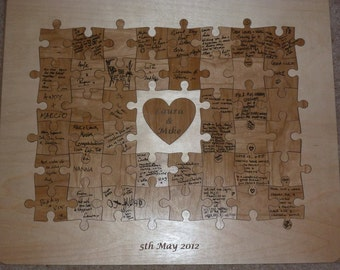 Wedding Guest Jigsaw