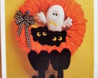 Scaredy Cats Wreath