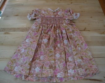 Vintage Handmade Girl's Dress