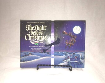 1988 The Night Before Christmas- A Hallmark Pop Up Book
