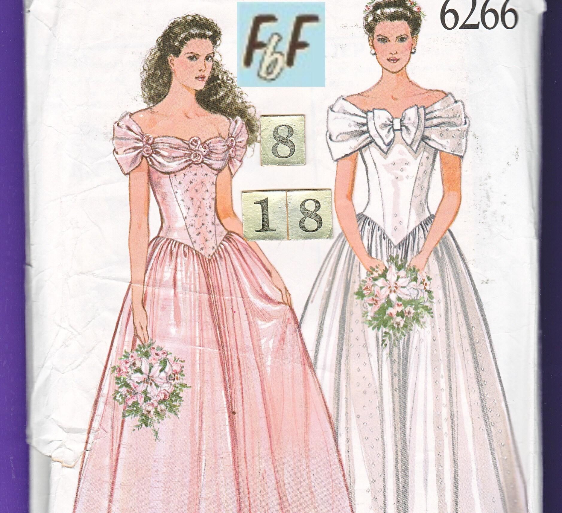 Caída de hombro cintura vestido de boda vestido / nuevo mira 6266 ...