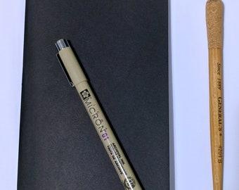 Blank Traveler's Notebook Refill // Standard Midori Fauxdori Journal - Bullet Journal - TN Planner Notebook - Fountain Pen Friendly Paper