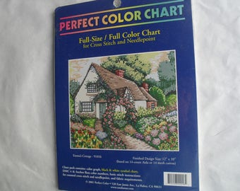 Cross Stitch and Needlepoint Kit New in Package Emma's Cottage 12X10