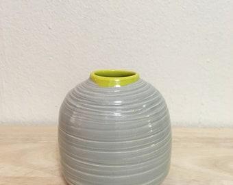 Small Carved Porcelain Vase