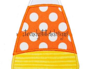 Candy Corn applique design machine embroidery design INSTANT DOWNLOAD