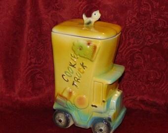 American Bisque Cookie Truck Cookie Jar