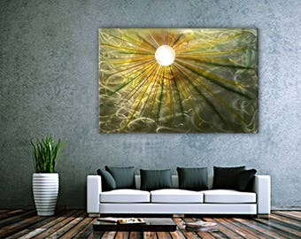 Metal Wall Art , Abstract painting, Contemporary Metal Wall Art, Modern Wall Decor, Modern Metal Wall Art,Unique Home Decor, Large Art