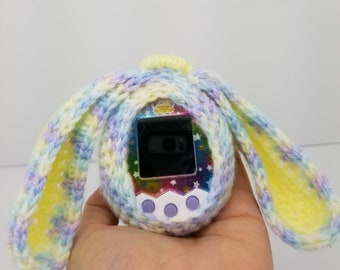 Tamagotchi M!x Crochet Cover-Bunny with Wrap Detail