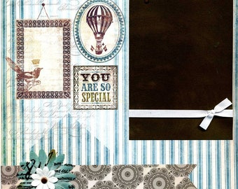 You Are So Special - Premade Scrapbook Page