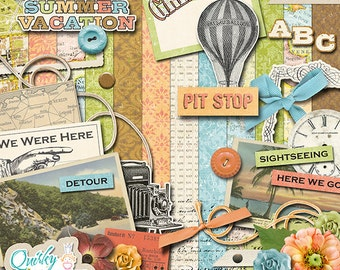 Latest Adventure Digital Scrapbook Kit