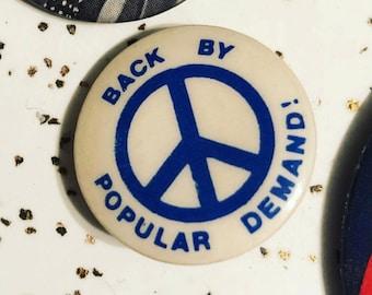 PEACE BBPD Pinback