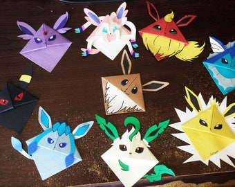 Eevee And Evolutions Corner Bookmarks
