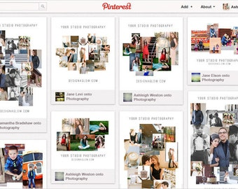 Pinnable Modern Mood Boards for Blog & Print
