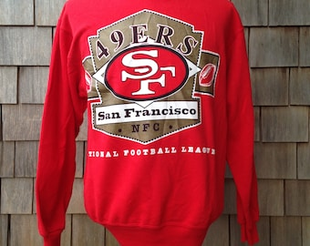 90s vintage San Francisco 49ers sweatshirt - Medium - Forty Niners