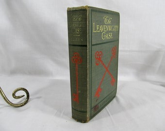Leavenworth Case by Anna K. Green Published by A.L. Burt Company, New York 1906 1978 G.P Putnam Son's Hardcover Vintage Book