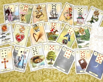 Matilda Lenormand Fortune Telling Oracle Cards. Brand New. Self Published.