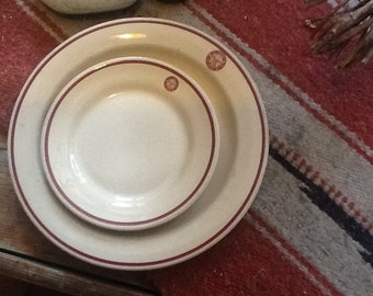 Elks Dishes by Wallace China
