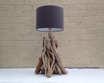 Handmade Entwined Driftwood Lamp