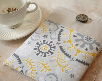 ipad air sleeve, ipad mini case with pocket, ipad covers and accessories, tablet accessories in Linen and Lace