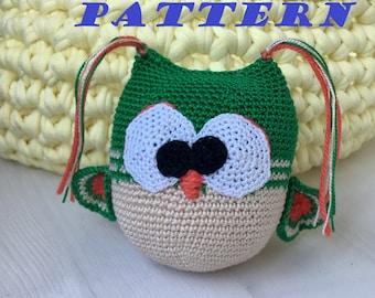 PATTERN. Amigurumi owl pattern, Owl crochet pattern, Crochet pattern, Amigurumi toy pattern, amigurumi toy tutorial, Crochet toy