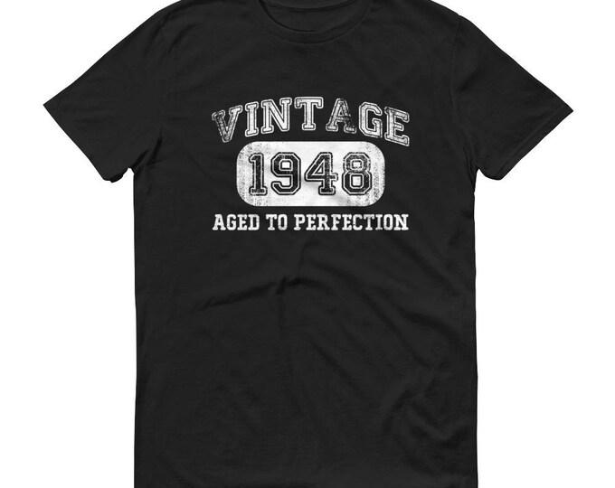 1948 Birthday Gift, Vintage Born in 1948 t-shirt for men, 70th Birthday shirt for him, Made in 1948 T-shirt, 70 Year Old Birthday Shirt