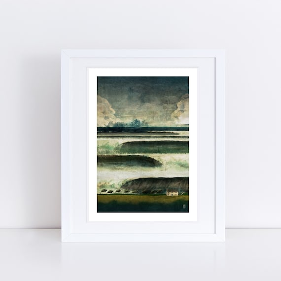 Heavy Seas - Signed Print from The Cruel and Curious Sea Exhibition