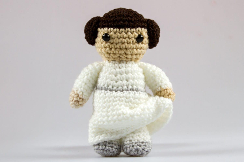 Princess leia crochet star wars pattern amigurumi crochet zoom bankloansurffo Images