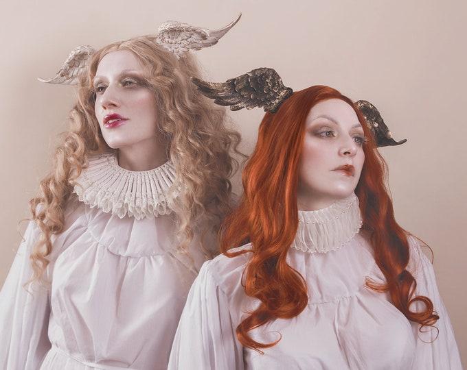 Angelic Headdress Wide Band