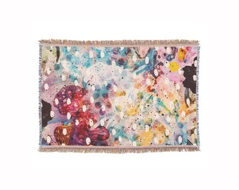 Flower Fields • Throw Blanket