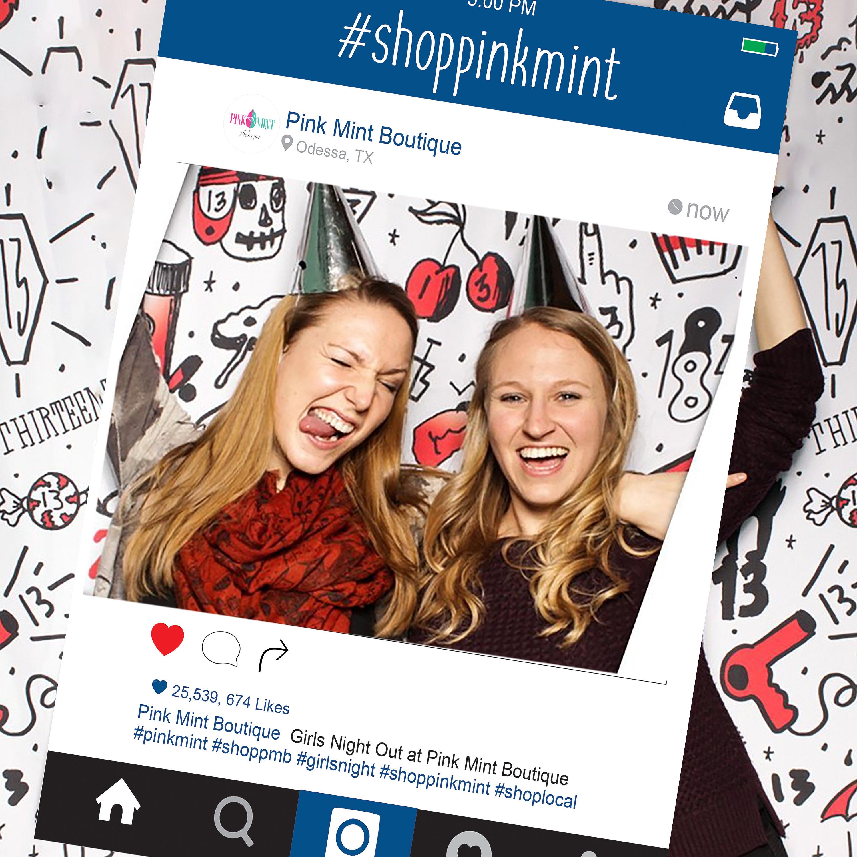 Gemütlich Instagram Fotorahmen Galerie - Benutzerdefinierte ...