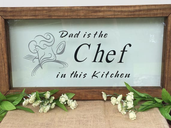 Dad Kitchen Sign kitchen signs Fathers Day gifts dads